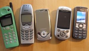 Alte Handys - Nokia domninierte